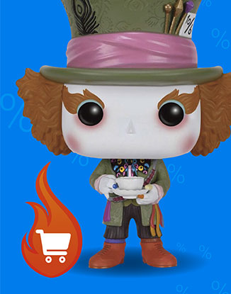 Mad Hatter Figur Nr 177