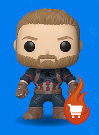 Captain America Vinyl Figure 288